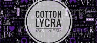 Cotton Lycra 180gsm - 200gsm prints