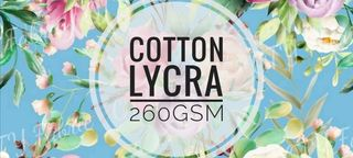 Cotton Lycra 260gsm - PRINTS