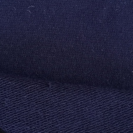 Navy Blue French Terry spandex