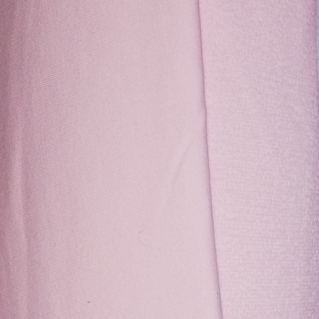 Baby pink organic French terry spandex