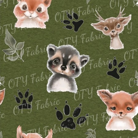 Marle olive cute forest creatures